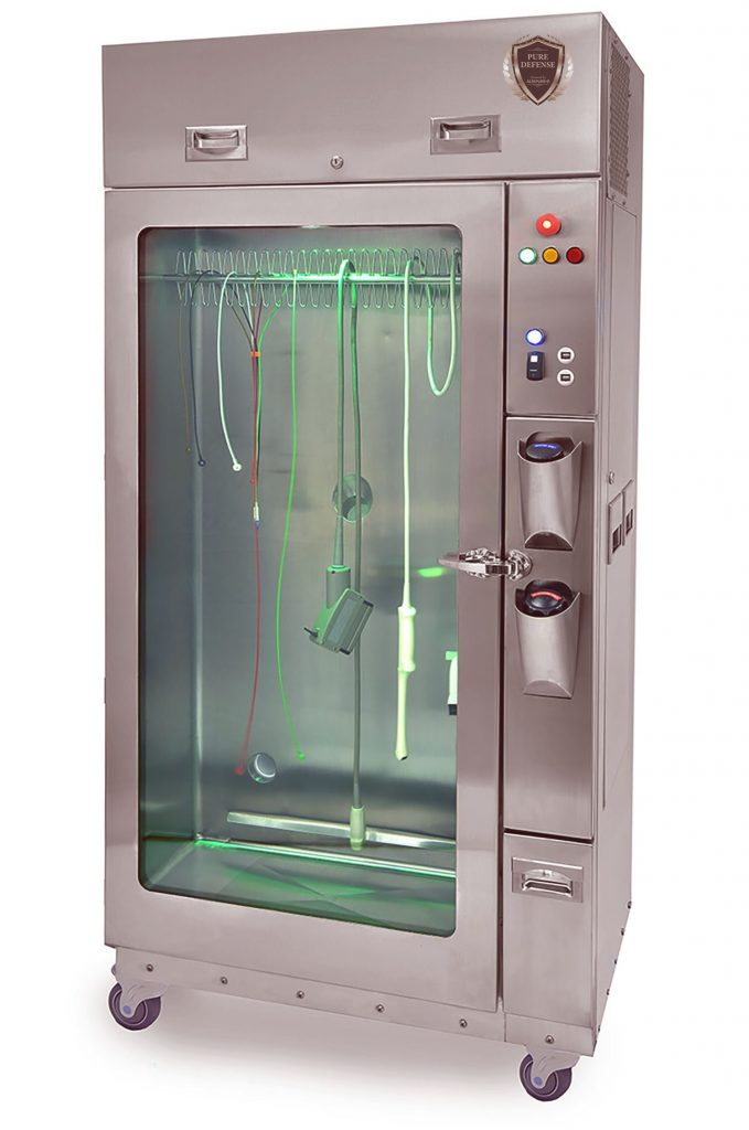 equipment sterilization cabinet
