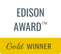 disinfection services edison award gold winner plaque